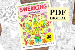 Swearing Coloring Book for Adults
