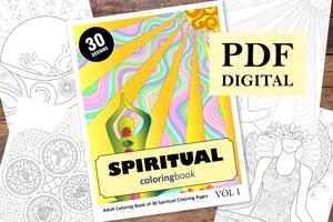 Spiritual Coloring Book for Adults